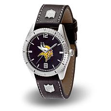 "Officially Licensed NFL Sparo ""Guard"" Strap Watch - Vikings"