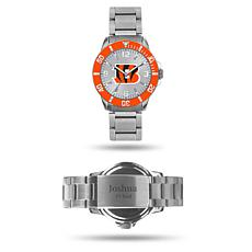 Officially Licensed NFL Sparo Key Personalized Watch - Bengals