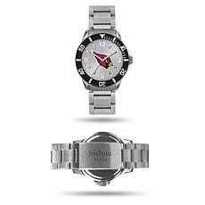 Officially Licensed NFL Sparo Key Personalized Watch - Cardinals