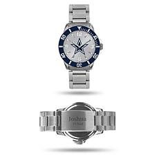 Officially Licensed NFL Sparo Key Personalized Watch - Cowboys