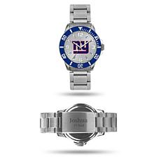 Officially Licensed NFL Sparo Key Personalized Watch - Giants
