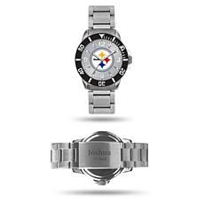 Officially Licensed NFL Sparo Key Personalized Watch - Steelers