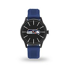 "Officially Licensed NFL Sparo Team Logo ""Cheer"" Strap Watch - Seahawks"