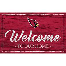 Officially Licensed NFL Team Color Sign - Arizona Cardinals
