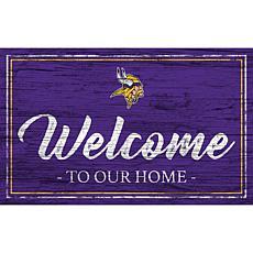 Officially Licensed NFL Team Color Sign - Minnesota Vikings