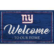 Officially Licensed NFL Team Color Sign - New York Jets