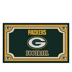 Officially Licensed NFL Team Logo Embossed Doormat - Pa