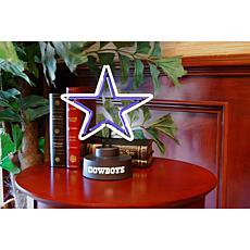 Officially Licensed NFL Team Logo Neon Lamp - Cowboys