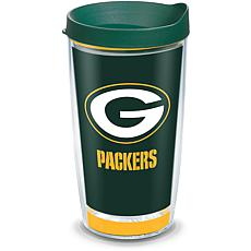 Officially Licensed NFL Touchdown  Tumbler w/ Lid - Green Bay Packers