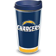 Officially Licensed NFL Touchdown  Tumbler w/ Lid - LA Chargers