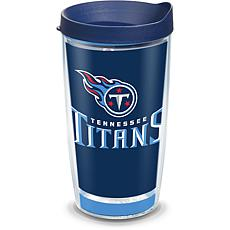 Officially Licensed NFL Touchdown  Tumbler w/ Lid - Tennessee Titans