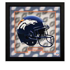 "Officially Licensed NFL Tridelix 12"" x 12"" 5D Wooden Frame"