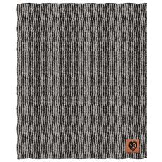 Officially Licensed NFL Two Tone Cable Knit Throw Blanket - Ravens