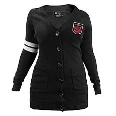 Officially Licensed NFL Varsity Cardigan - Cardinals