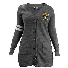 Officially Licensed NFL Varsity Cardigan - Packers