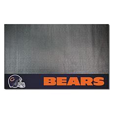 Officially Licensed NFL Vinyl Grill Mat  - Chicago Bears
