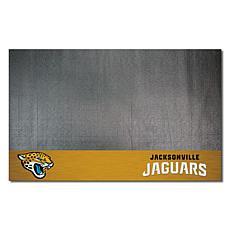 Officially Licensed NFL Vinyl Grill Mat  - Jacksonville Jaguars