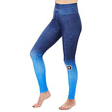 Officially Licensed NFL Women's Distressed Gradient Legging by Zubaz