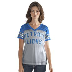 Officially Licensed NFL Women's Fan Club Tee Mesh by Glll