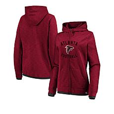 Officially Licensed NFL Women's Fandom Full-Zip Hoodie by Fanatics