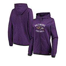 Clearance. Officially Licensed NFL Women s Fandom Full-Zip Hoodie by  Fanatics 01fe7bdbc