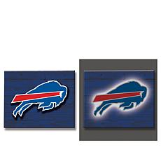Officially Licensed NFL Wooden Lightup Sign
