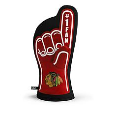 Officially Licensed NHL #1 Fan Oven Mitt - Chicago Blackhawks