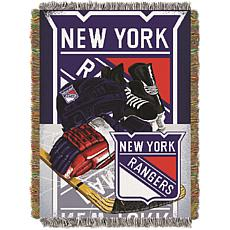 Officially Licensed NHL Home Ice Advantage Tapestry Throw - Rangers