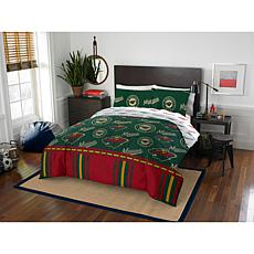 Officially Licensed NHL Queen Bed in a Bag Set - Minnesota Wild