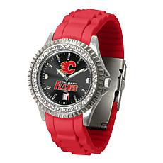 Officially Licensed NHL Sparkle Series Watch - Calgary Flames