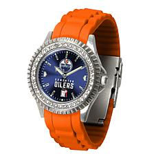 Officially Licensed NHL Sparkle Series Watch - Edmonton Oilers