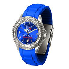 Officially Licensed NHL Sparkle Series Watch - New York Rangers