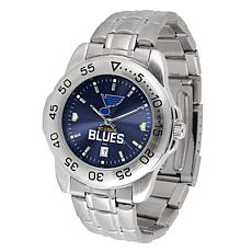 Officially Licensed NHL Sport Steel Series Watch -  St. Louis Blues