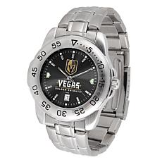 Officially Licensed NHL Sport Steel Series Watch- Vegas Golden Knights