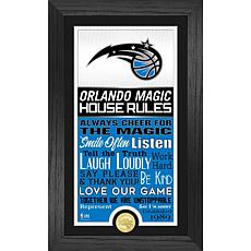 Officially Licensed Orlando Magic House Rules Bronze Coin Photo Mint