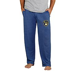 Officially Licensed Quest Men's Knit Pant by Concepts Sport - Brewers