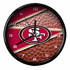 Officially Licensed San Francisco 49ers Team Football Clock