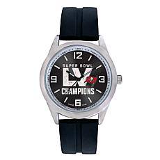 Officially Licensed Super Bowl LV Champs Varsity Series Watch - Bucs