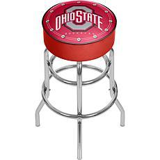 Ohio State University Logo Padded Bar Stool
