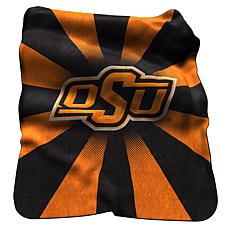OK State Raschel Throw