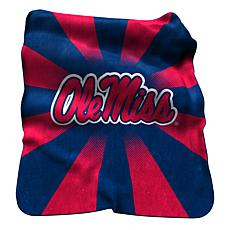 Ole Miss Raschel Throw