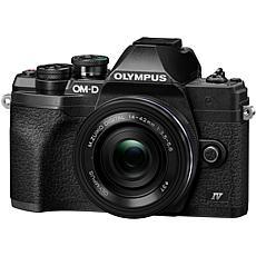 Olympus OM-D E-M10 Mark IV Mirrorless Camera w/14-42mm Lens - Black