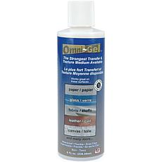 Omni-Gel Transfer Medium 8 Ounces - Squeeze Bottle