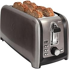 Oster Black Stainless Collection 4-Slice Toaster