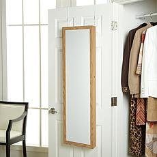 Over-the-Door Bath/Beauty Cabinet w/Full-Length Mirror