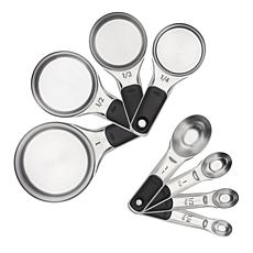 OXO Good Grips 8-piece Stainless Steel Measuring Cups and Spoons Set