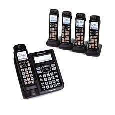 Panasonic DECT 6.0 5-Handset Cordless Phones
