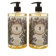 Panier des Sens 2-pack Lavender Liquid Marseille Soap
