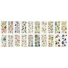Paper House Faux Enamel Sticker 20-pack