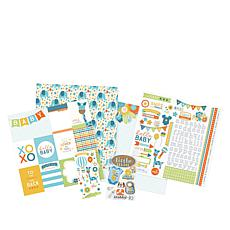 Paper House Hello Baby Boy Paper Crafting Kit